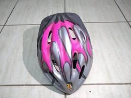 Capacete Ciclismo/ Ciclista - Feminino - Com Regulagem