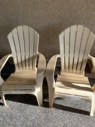 Cadeira de praia R$ 80,00 cada
