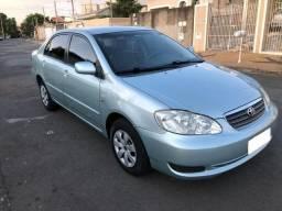 Corolla 2008, automático 1.6, completo com câmera de Ré e engate