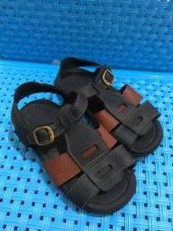 Sandália e tênis infantil masculino tamanho 25