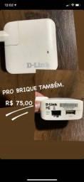 Repetidor de sinal Wi-Fi D-link