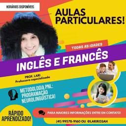 Aula particular de Inglês e Francês!