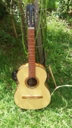 Lindo violão Tonante 121 antigo raro perfeito estado colecionador