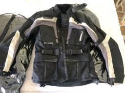Jaqueta e calça moto - Leoshi