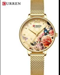 Relógio feminino currem