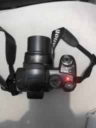 Camera Canon com defeito na lente