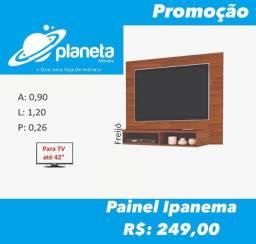 painel Ipanema marrom para televisão