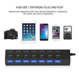 Hub USB 7 entradas
