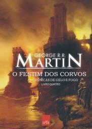 Livro novo: As crônicas de Gelo e Fogo- O festim dos corvos (livro quatro)