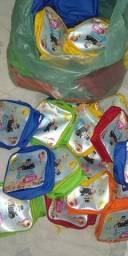 Bolsa para festa infantil tema mundo bita Obs:Nome ícaro 1 Aninho