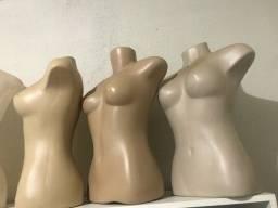 Vendo 6 Manequim busto feminino