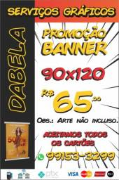 Banner R$ 65,00