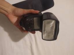 Flash SPEDLITE 580EX II - pouco usado