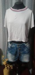 Título do anúncio: Blusa em Malha Branca - Tam. M