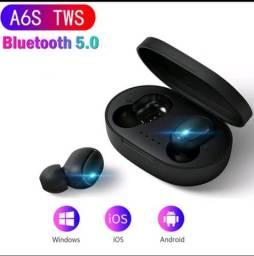 A6S Tws Sem Fio Bluetooth 5.0