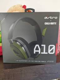 Headset Astro A10 - Versão call of duty  Ps4
