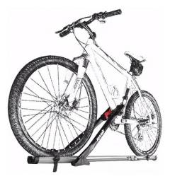 Transbike de Teto Eqmax Velox Aluminium preta Calha para 1 Bike