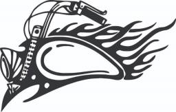 Adesivo Harley Davidson