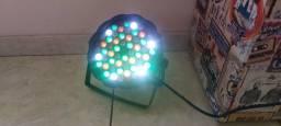 Canhão Spotlight 54 Leds iluminação para festas e eventos.