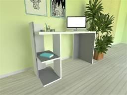 Escrivaninha moderna com organizador
