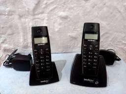 Telefone sem fio digital TS 40 ID Intelbras + Ramal