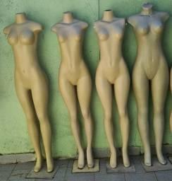 Manequins femininos usado promoção