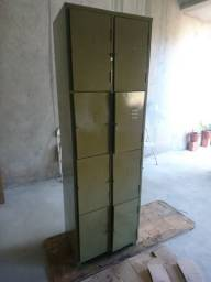Armario de aço 8 portas