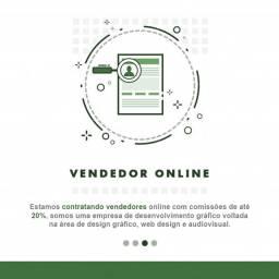 Contrata-se vededor (a) online
