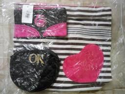 Kit com 3 bolsas