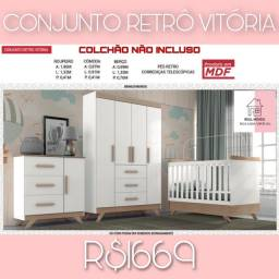 Conjunto conjunto retrô vitória vitória real móveis sua loja virtual