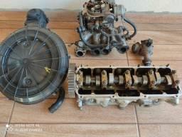 Carburador e cabeçote 1.8 gasolina