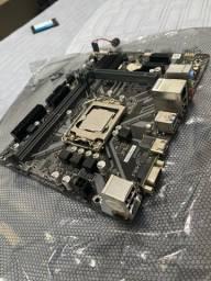 KIT Placa-Mãe e Processador Funcionando normalmente