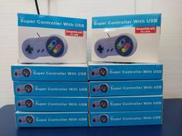 Controle Super Nintendo USB - SNES / Manete / Joystick