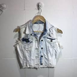 Roupas, Coletinho Jeans