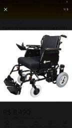 Cadeira De Rodas Motorizada Comfort Eb-103-s 40 Cm