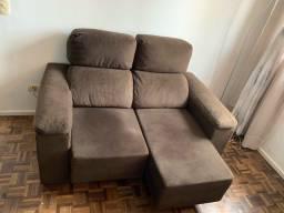 Sofá reclinável e retratil