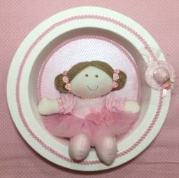 Enfeite Maternidade  boneca bailarina