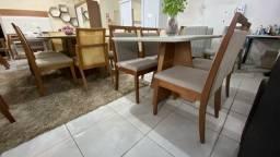 Mesas de madeira maciça 4 lugares nova