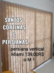Santos Persiana vertical Miami 139,00R$ 0 mt quadrado