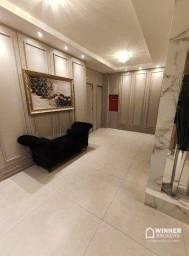 Apartamento com 3 dormitórios para alugar, 97 m² por R$ 2.310,00/mês - Zona 07 - Maringá/P