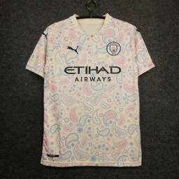 Camisa Manchester City II Branca 20/21