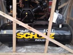 Compressor de Ar Msv Fort 40 Pes - 425 Litros - 175 Libras - Schulz