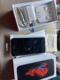 Iphone 6s em estado de novo com NF caixa fone e cabos originais