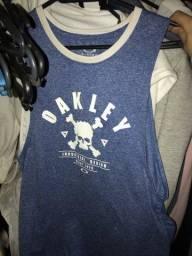 regata skull azul oakley