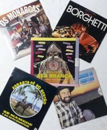 Coleção de 56 Discos de Vinil Originais
