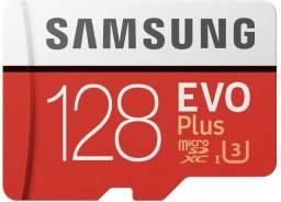 Cartão Memória microSDXC 128GB Evo Plus Samsung