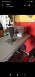 Máquinas de costura travete e prespontadeira