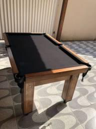 Mesa de Bilhar / Sinuca em madeira maciça