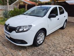 Renault Logan Authentique 1.0 12v SCE, 2019, completo, 43 mil km, impecável