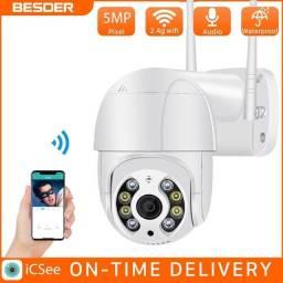 Câmera vigilância IP Wi-Fi